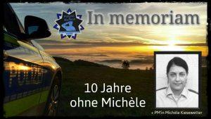 In memoriam: 10 Jahre ohne Michèle Kiesewetter