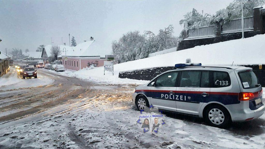 Verschneit in Niederösterreich