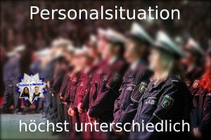 Personalsituation: höchst unterschiedlich