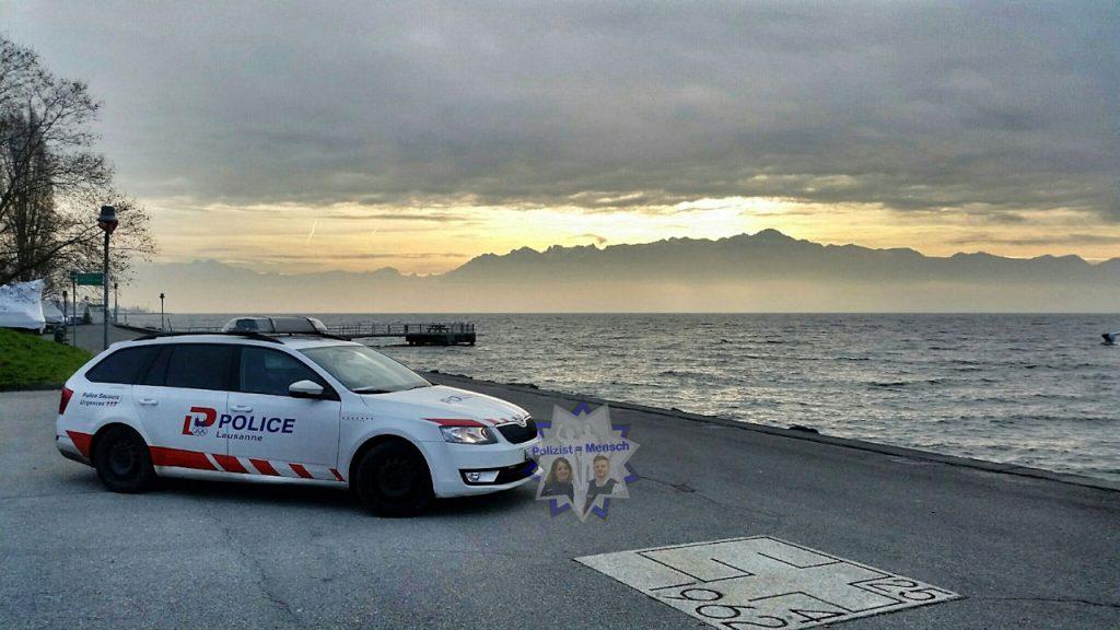Mit Blick auf den Genfer See