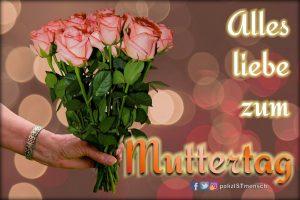 Alles liebe zum Muttertag!