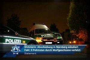 Unser Statement zu: Shitstorm - Abschiebung in Nürnberg eskaliert