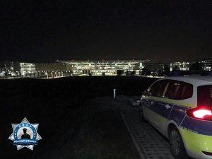 Christoff hat wohl den besten Blick auf den ruhigsten Flughafen Europas