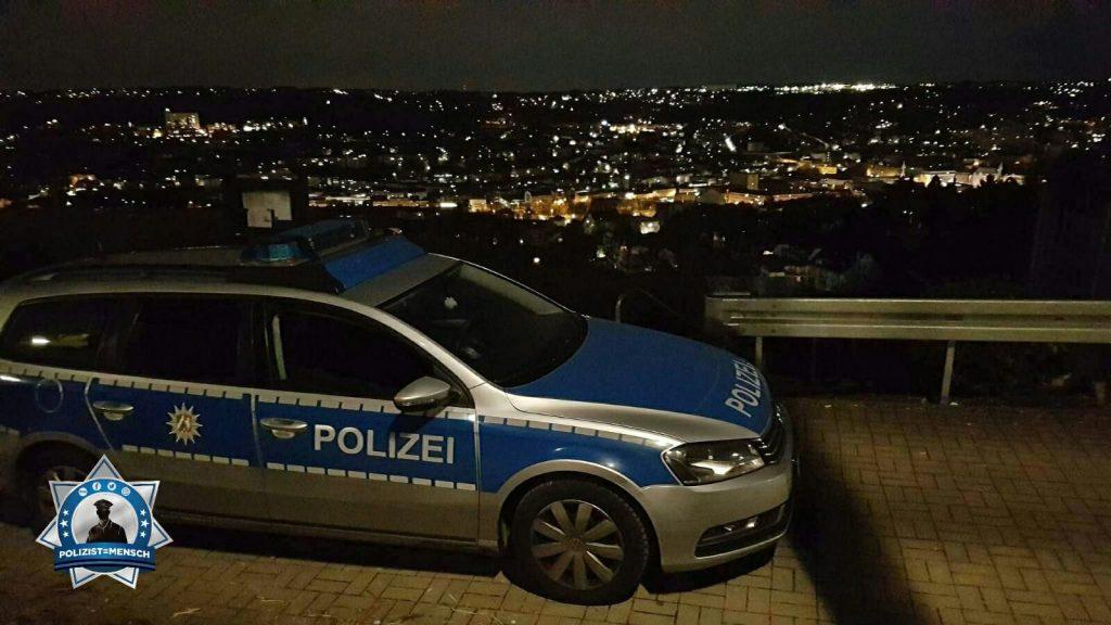 Gruß zum Nachtdienst aus Wuppertal