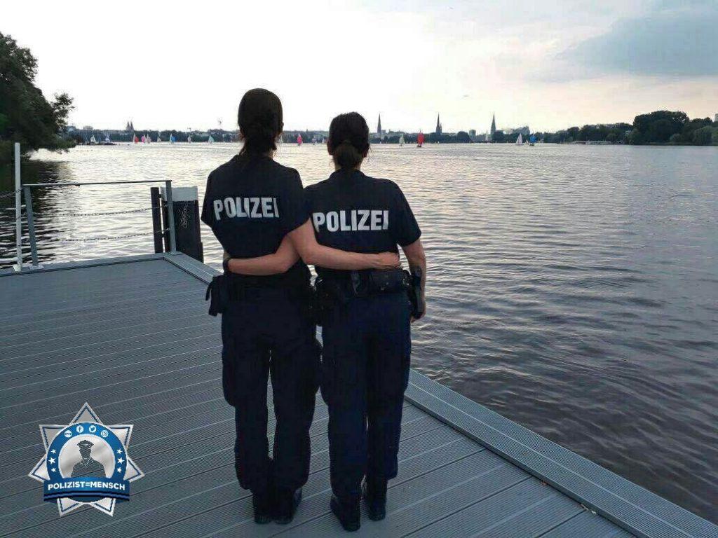Die Polizeifamilie beim G20-Einsatz in Hamburg