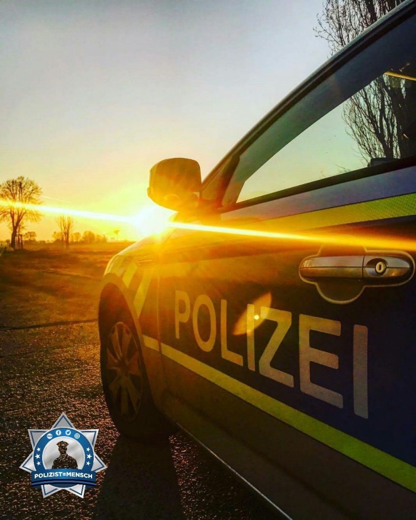 """Morgengruß aus dem Revier Saalekreis. Tizian"""