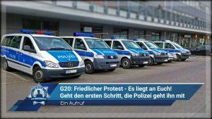++Aufruf++ G20: Friedlicher Protest - Es liegt an Euch!