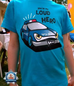 You are my loud hero