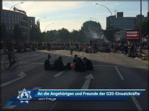 An die Angehörigen und Freunde der G20-Einsatzkräfte (von Freya)