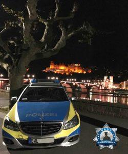 Nächtliche Grüße vom Heidelberger Schloss