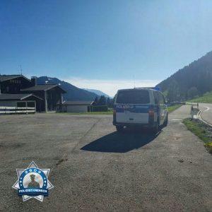Sonniger Gruß aus den Alpen