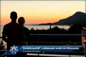 """Kurioser """"Verkehrsunfall"""": Liebesspiel endet mit Blessuren"""