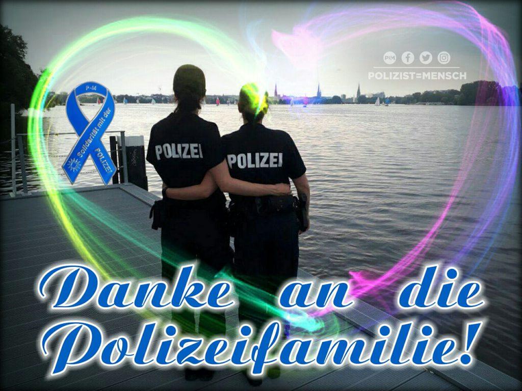 Danke an die Polizeifamilie!