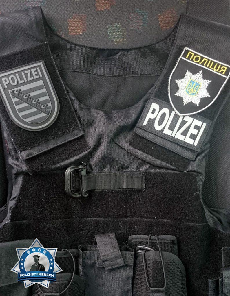 """""""Kleiner Tausch mit der ukrainischen Polizei, Florian"""""""