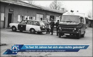"""Gedanken eines erfahrenen Polizisten: """"In fast 50 Jahren hat sich also nichts geändert"""""""