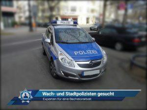Experten für eine Bachelorarbeit: Wach- und Stadtpolizisten gesucht