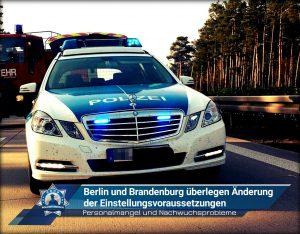 Berlin und Brandenburg überlegen Änderung der Einstellungsvoraussetzungen