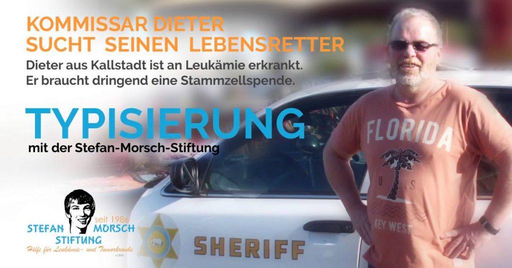 Kollege Dieter sucht einen Stammzellspender