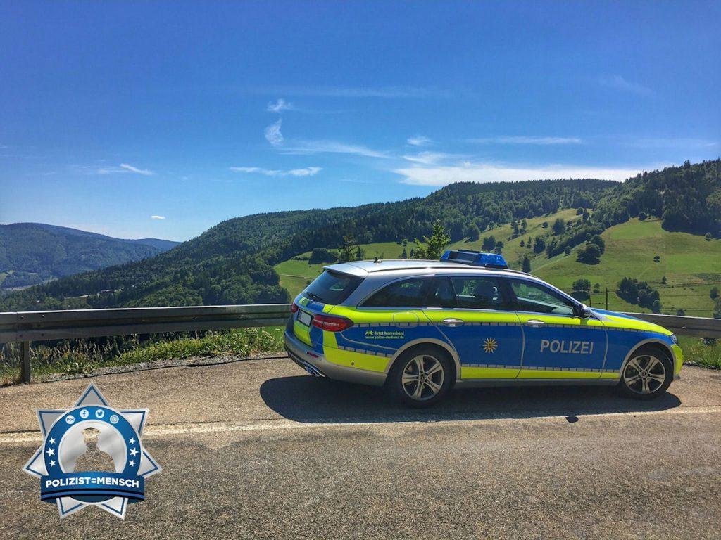 Sonniger Wochenendgruß vom Polizeiposten Oberes Wiesental