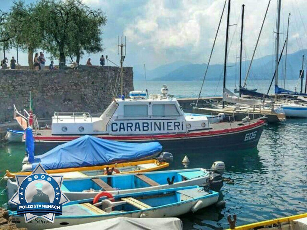 """""""Als ich in Italien war habe ich in Torri dieses Polizeiboot gefunden. Dominic"""""""