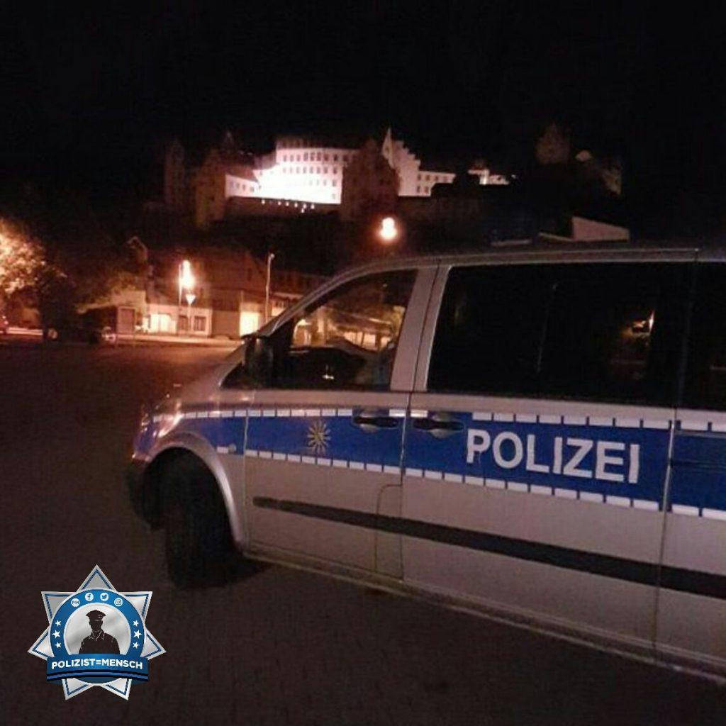 """""""Schöne Grüße von der Polizei Sachsen aus der Nachtschicht! - Florian"""""""