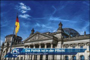 Bundestagswahl 2017: Die Politik ist in der Pflicht