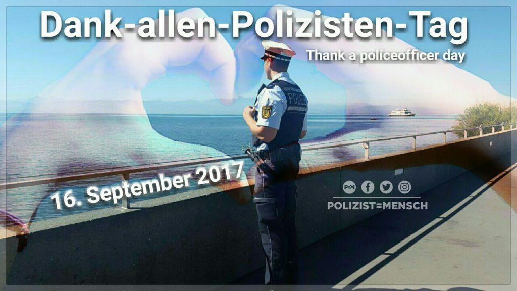 Dank allen Polizisten Tag 2017