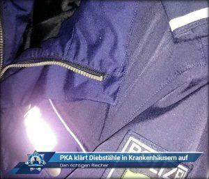 Den richtigen Riecher: Polizeikommissaranwärter klärt im Praktikum Diebstähle in Krankenhäusern auf