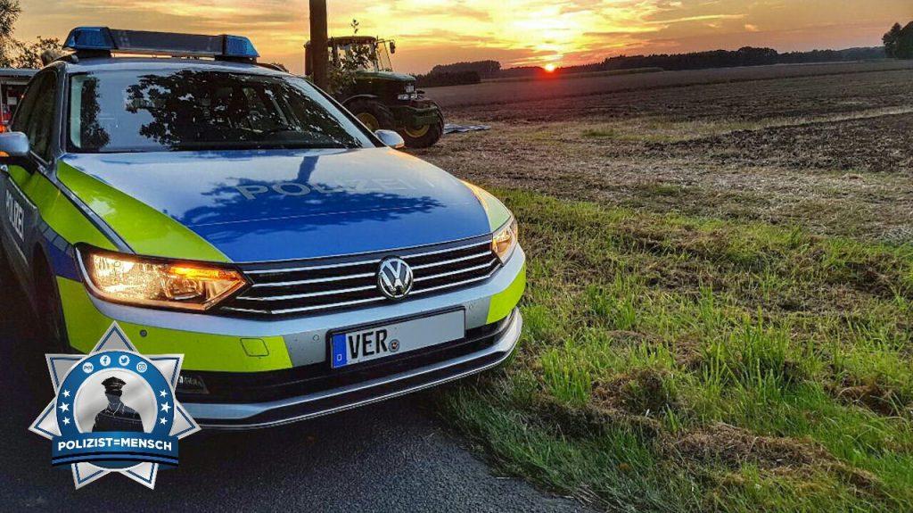 Grüße vom flachen Lande in Niedersachsen