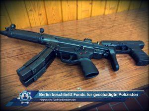 Marode Schießstände: Berlin beschließt Fonds für geschädigte Polizisten