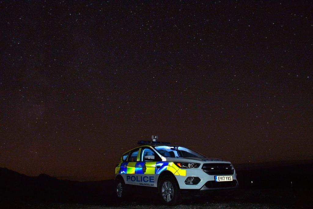 Unser heutiger Gruß zum Nachtdienst kommt von Shaun und der Durham Constabulary