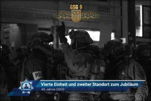 45 Jahre GSG9: Vierte Einheit und zweiter Standort zum Jubiläum