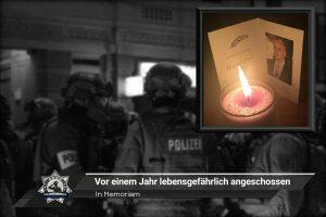 In Memoriam: Daniel Ernst - Vor einem Jahr lebensgefährlich angeschossen
