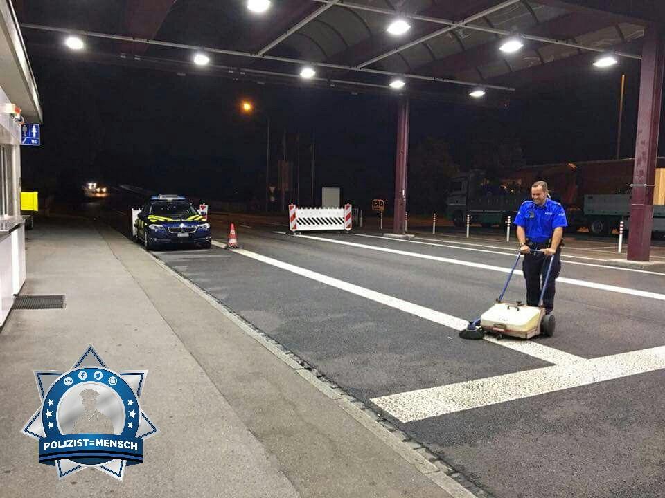 Nachtschicht bei der Schweizer Grenzwacht