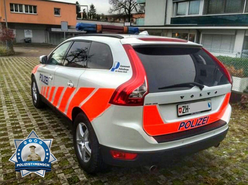 """""""Liebe Grüsse aus dem Zürcher Unterland von der Gemeindepolizei."""""""