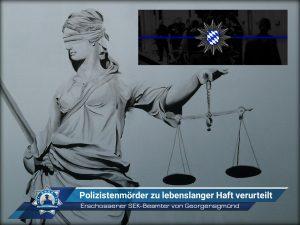 Erschossener SEK-Beamter von Georgensgmünd: Polizistenmörder zu lebenslanger Haft verurteilt