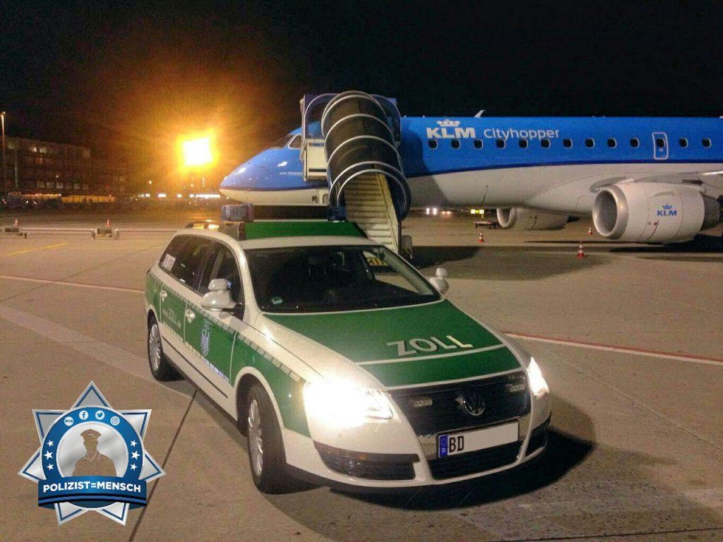 """""""Grüße aus der Nachtschicht vom Flughafen Frankfurt. Flo & Sabrina"""""""