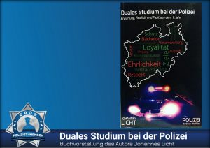 Buchvorstellung des Autors Johannes Licht: Duales Studium bei der Polizei