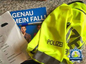 Das Praktikum bei der Polizei hat mich in meinem Berufswunsch bestärkt