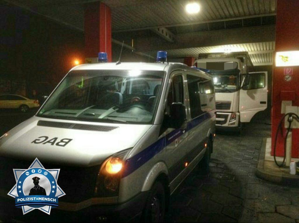 Heute kommt unser Gruß zum Nachtdienst nicht von der Polizei, sondern vom BAG