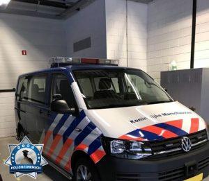 """""""Grüße aus Holland von der Koninklijke Marechausee (Militärpolizei)."""""""
