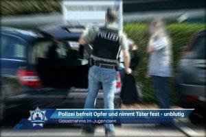 Geiselnahme im Jugendamt: Polizei befreit Opfer und nimmt Täter fest - unblutig