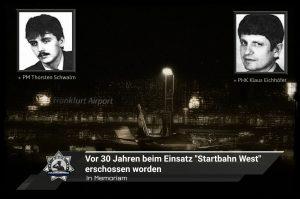 """In Memoriam: Vor 30 Jahren beim Einsatz """"Startbahn West"""" erschossen worden"""