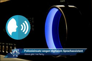 Alexa gibt 'ne Party: Polizeieinsatz wegen digitalem Sprachassistent