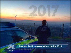 Unser Jahresrückblick: Das war 2017 - unsere Wünsche für 2018
