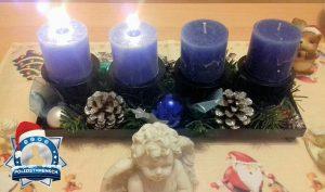 Florije wollte mit unserer Aktion Blaue Kerze nicht bis Heilig Abend warten