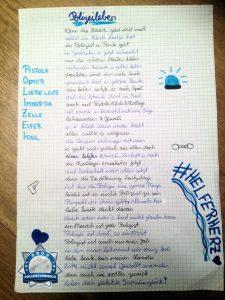 Gedicht: Wenn sich junge Menschen mit der Polizei beschäftigen