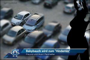 """Freund und (Aus-) Parkhelfer: Babybauch wird zum """"Hindernis"""""""