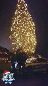Weihnachtsgrüße vom höchsten Weihnachtsbaum Deutschlands