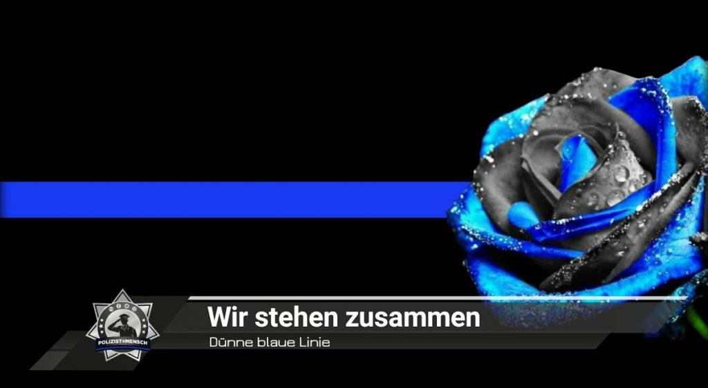 Dünne blaue Linie: Wir stehen zusammen